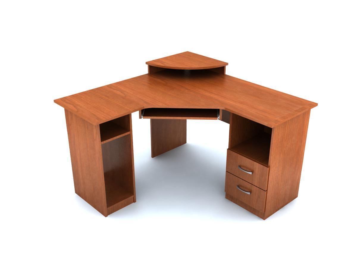 Стол угловой с надставкой к7 лдсп корпусная мебель мебельная.
